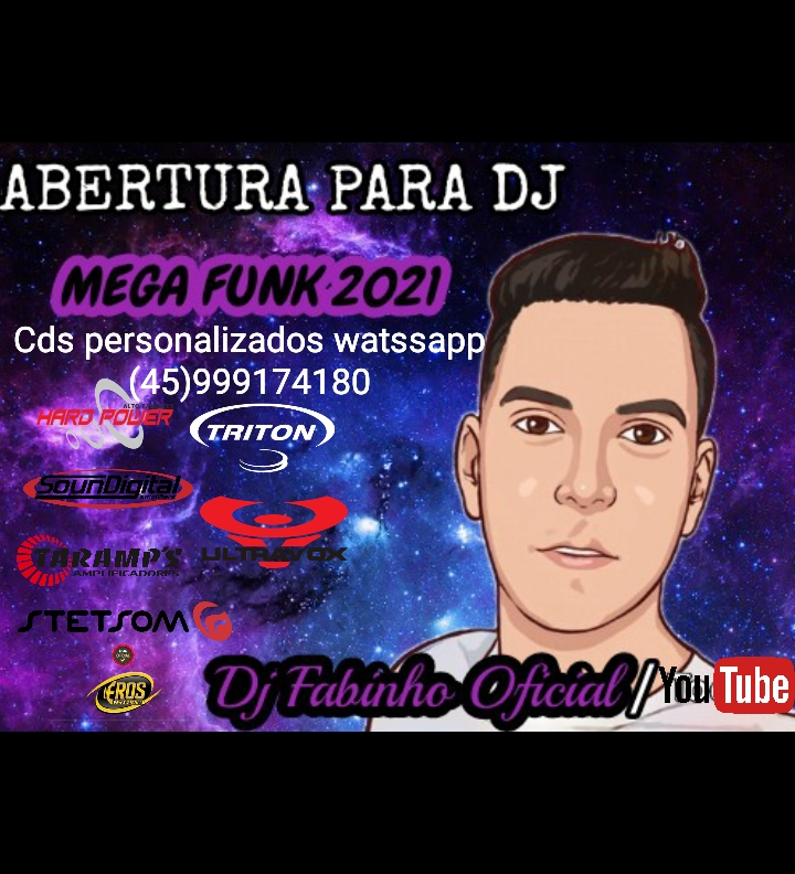 Abertura para djs com mega funk _ Dj Fabinho Oficial