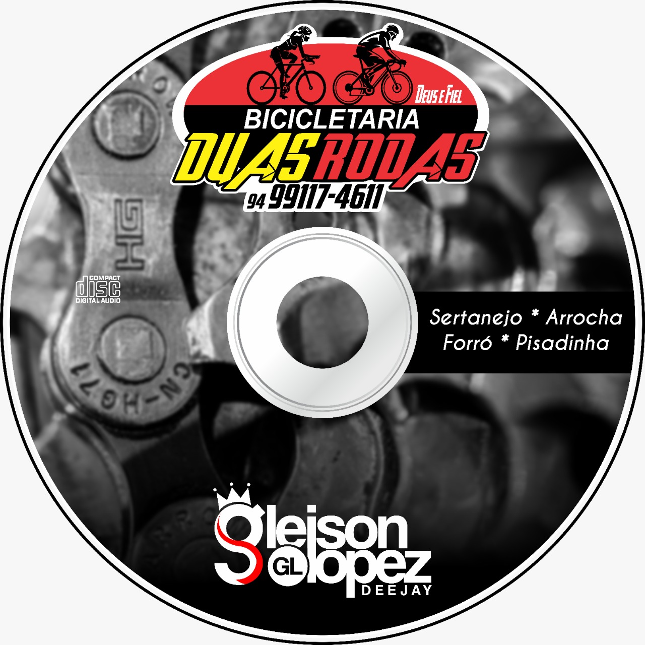 Bicicletaria 2 Rodas Parauapebas-PA - Gleison Lopez DJ