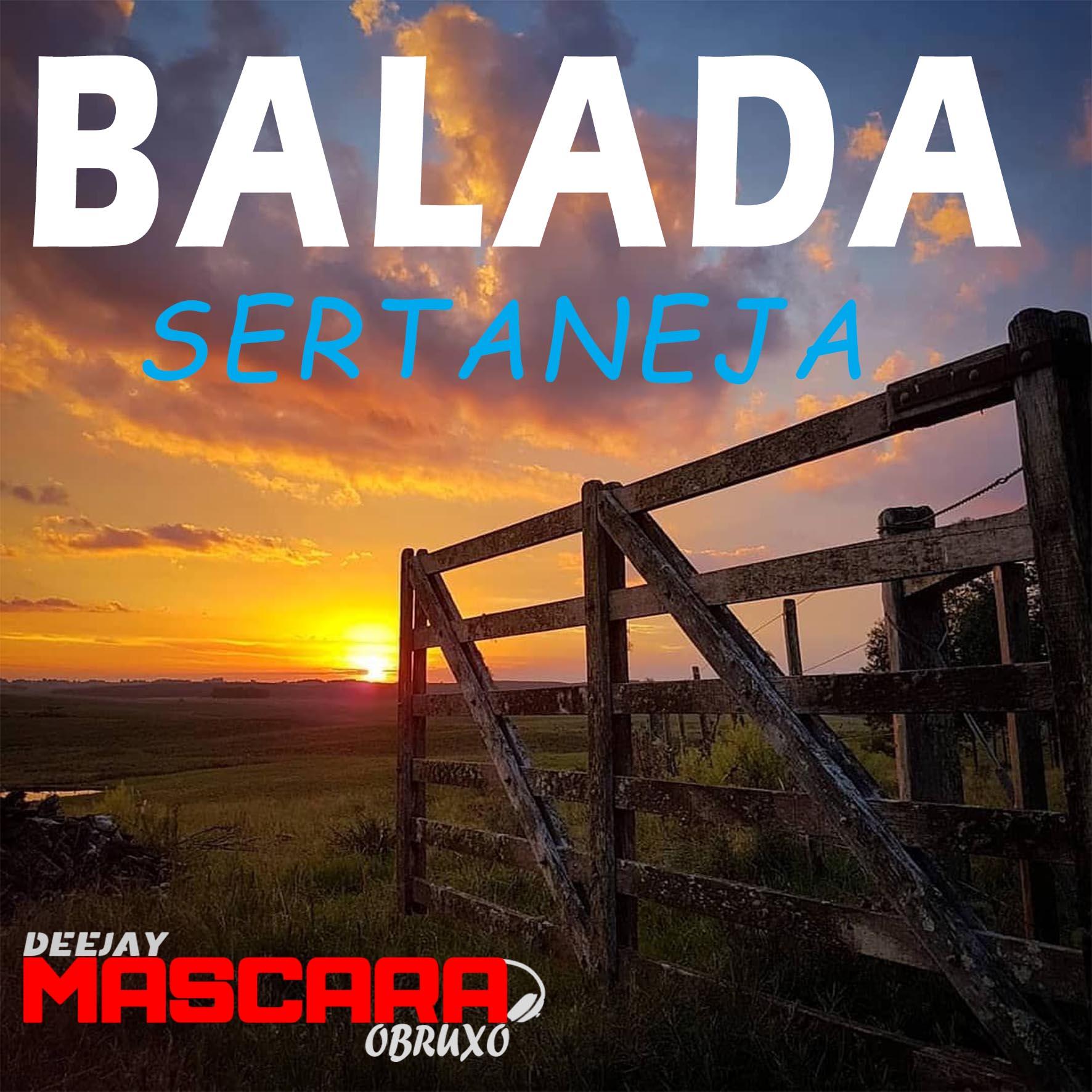 CD BALADA SERTANEJA _DJMASCARA