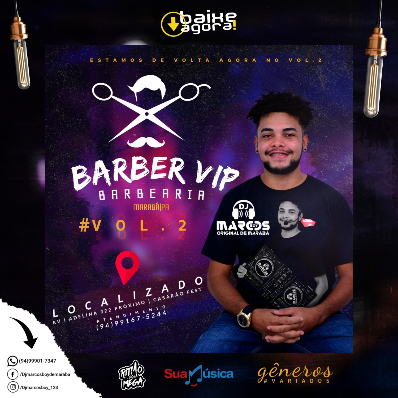 CD BARBER VIP BARBEARIA VOL.2 DJ MARCOS BOY