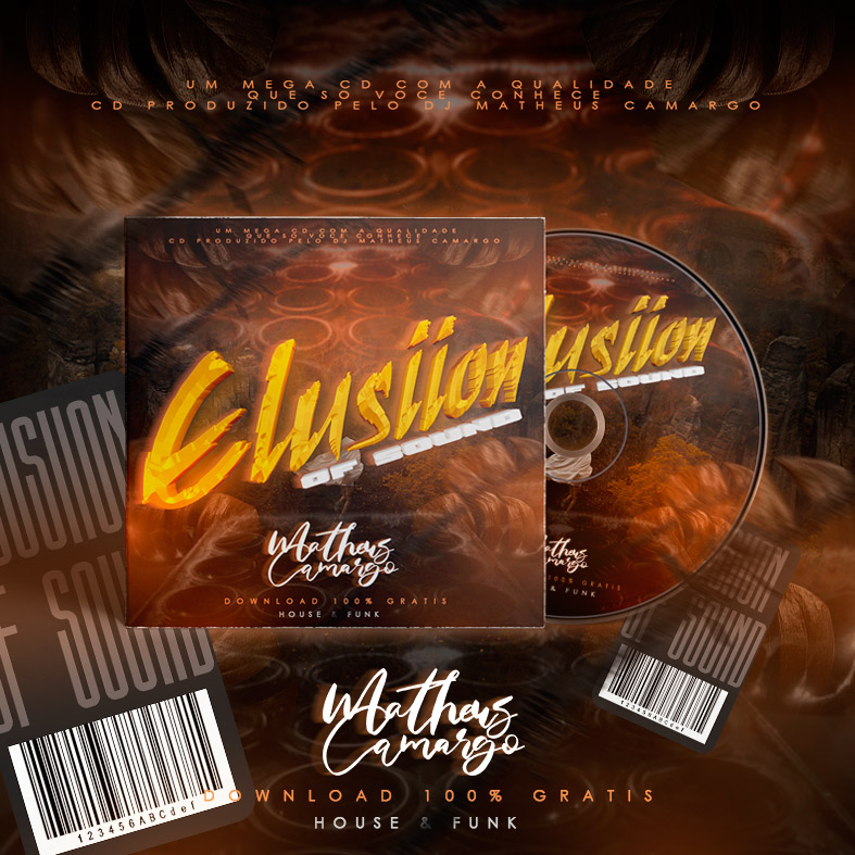 CD HOUSE ELUSIION OF SOUND 2021 - DJ MATHEUS CAMARGO