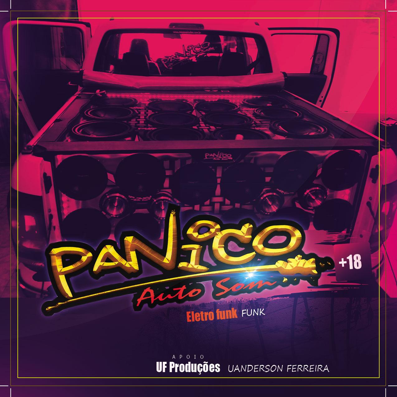 CD Panico Auto Som