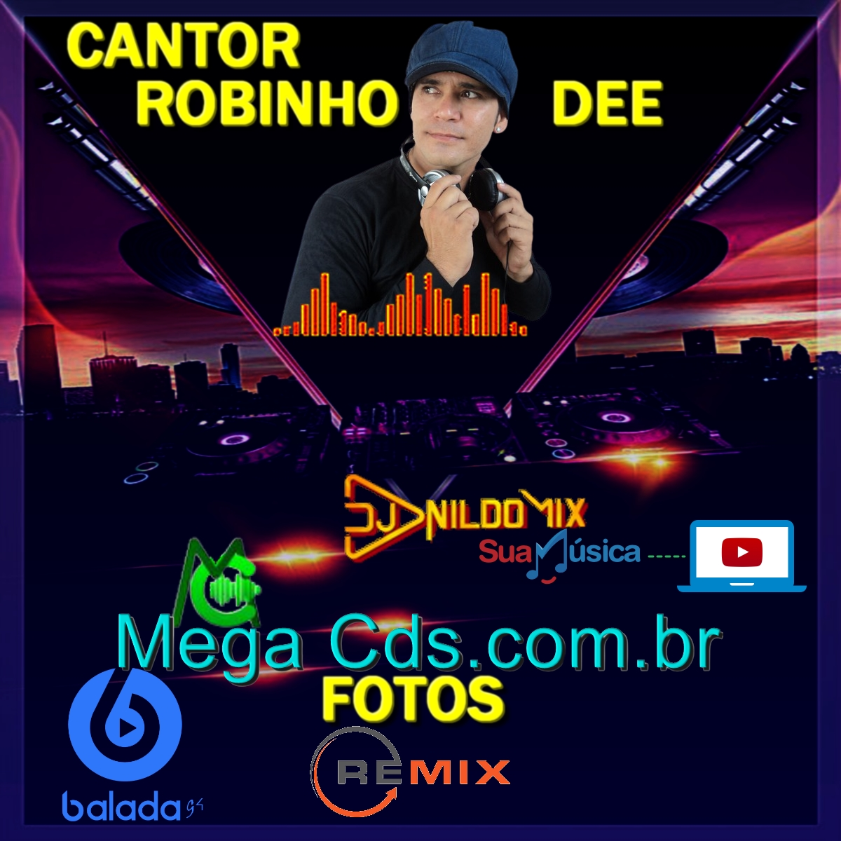 ROBINHO DEE DJ NILDO MIX FOTOS REMIX 2021