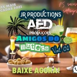 CD-AMIGOS DO BUTECO VOL-02 JR PRODUCTION E ESTUDIO AED PRODUCOES