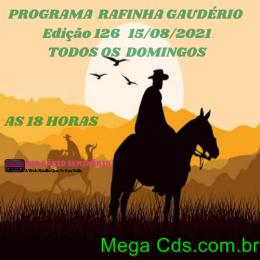 RAFINHA GAUDERIO EDIÇAO 126-15-08-2021