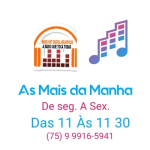 AS MAIS DA MANHA AO VIVO - RADIO NET DIGITAL HELIOPOLIS - 05.01.2021