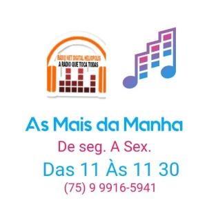 AS MAIS DA MANHA AO VIVO - RADIO NET DIGTAL HELIOPOLIS - 29.12.2020