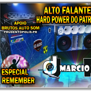 CD Alto Falantes Ward Power do Patrick Especial Remember - Dj Márcio K