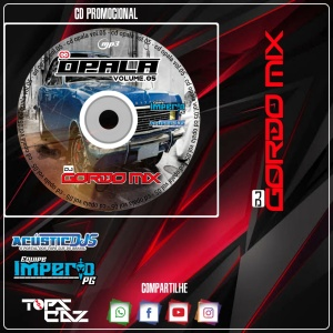 Cd Opala Dj Gordo Mix Vol 5