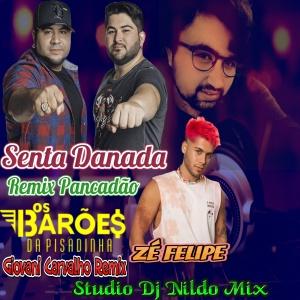 Zé Felipe & Barões Da Pisadinha Senta Danada Remix Pancadão Studio Dj NILDO Mix